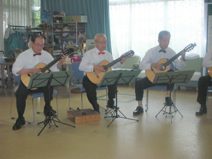 「ギターアンサンブル・グルーバー」の皆さまによる演奏会