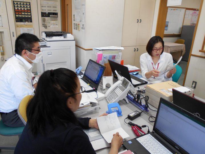 総和会居宅介護支援事業所 ケアマネ会議開催