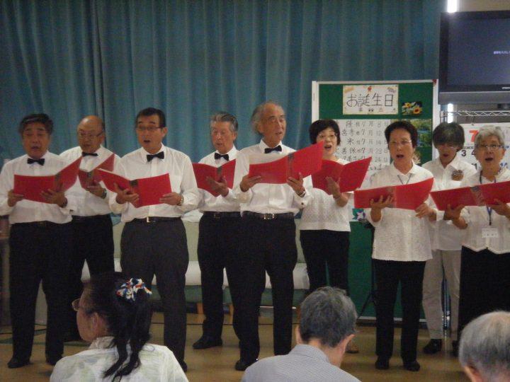 千葉県生涯大学校 京葉学園コーラスクラブさんより「歌の出前」が届きました!