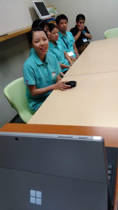EPAベトナム人介護福祉士候補生、日本での様子をベトナムの後輩に向けて発信!