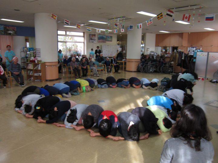 誉田東小学校職場体験学習「運動会&ありがとうの会」