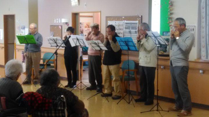 グリーンハーモニカのみなさんによる演奏会です!