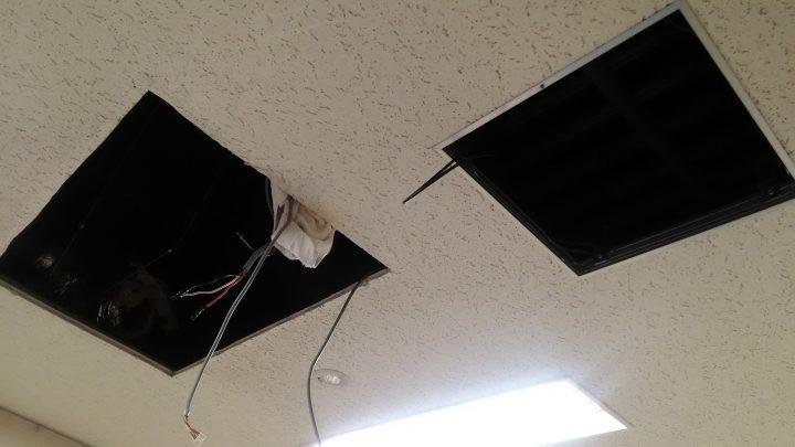 エアコン改修工事 中間報告