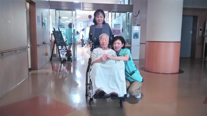 101歳!おめでとうございます!\(^o^)/