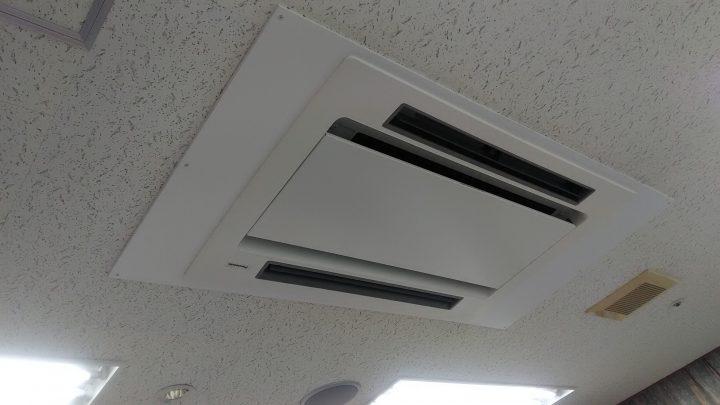 エアコン改修工事 無事に終わりました!