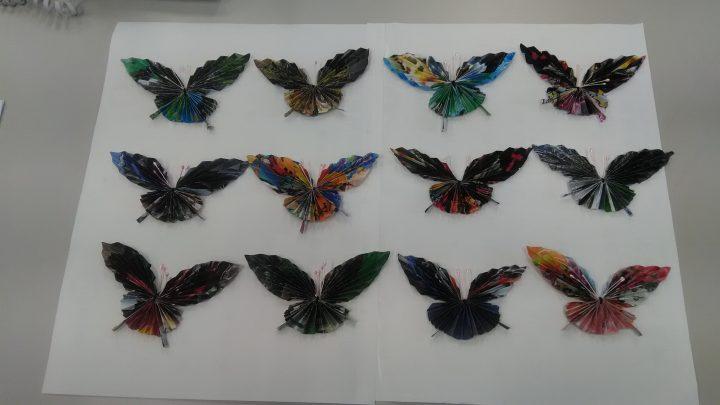総和苑に蝶々が舞い降りました!