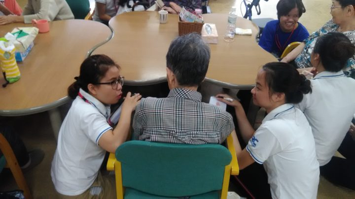 EPA介護福祉士候補者施設見学会の様子