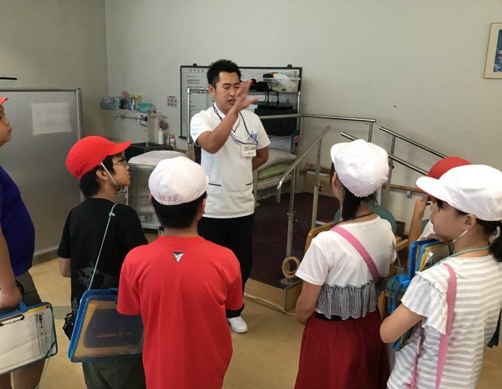 誉田東小学校校外学習「職場探検」2