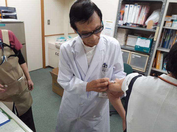 インフルエンザの予防接種はじめました! 💉