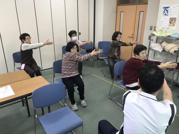 一般向け公開講座「自宅でできる」転倒予防体操教室開催!