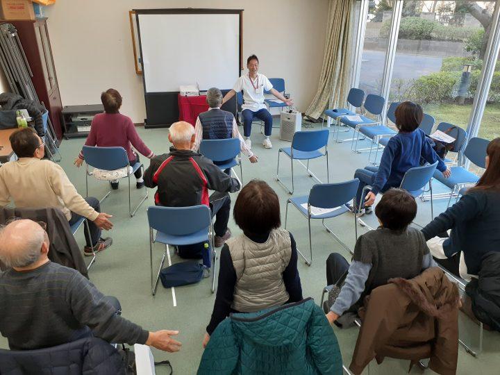 第2回 一般向け講座「自宅でできる転倒予防」を開催しました!