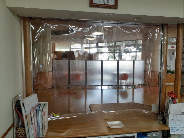 透明カーテン作ってみました!
