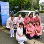 武村内科医院看護師と誉田訪問看護ステーション看護師で写真撮影をしました 📷