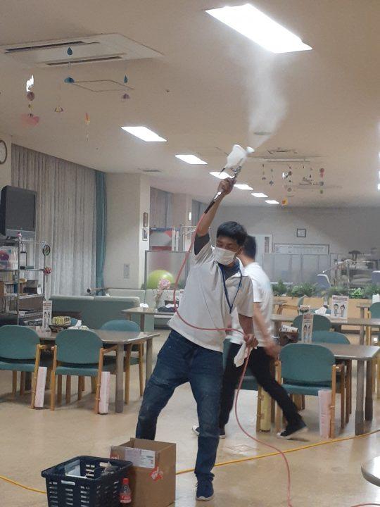 除菌・抗菌汁 ブシャーッ!! 🍐