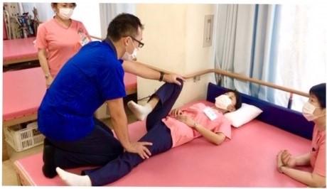 リハビリスタッフと訪問看護スタッフの勉強会